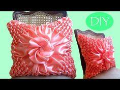 Cojín drapeado paso a paso # 3. Draped cushions DIY. Almofada em Capitone. - YouTube