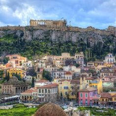 The Parthenon in Athens is the most famous surviving building of Ancient Greece and one of the most famous buildings in the world. Greece Tours, Greece Travel, Athens City, Athens Greece, Pool Bar, Places To Travel, Places To Visit, Famous Buildings, Greece Islands