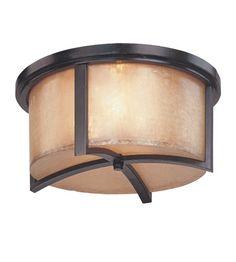 Troy Lighting Austin 3 Light Flush Mount in Antique Bronze C1741ABZ #lightingnewyork #lny #lighting