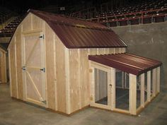 Chicken coop plans with material list, The Poultry Barn & Storage Shed