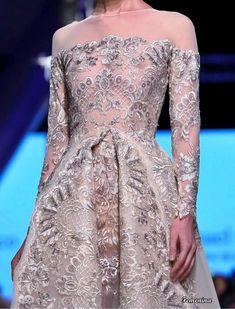 Michael Cinco Couture Michael Cinco Couture, Strapless Dress Formal, Formal Dresses, Denim, Fashion, Dresses For Formal, Moda, Formal Gowns, Fashion Styles