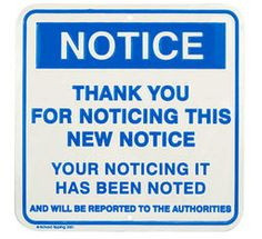 Notice - Richard Tipping Sign    Richard Tipping ! £12.50 #Tate