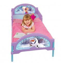 Le lit que toutes les petites filles voudraient avoir! La tête de lit représente les deux héroïnes du dessin animé. Il comprend un sommier en toile tendue.L...