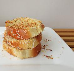 Lemon Coconut Crusted French Toast