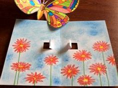 Motýli – prostorový obrázek Summer Art Projects, School Art Projects, Summer Crafts, Diy Crafts To Do, Arts And Crafts, Paper Crafts, Murals For Kids, Art For Kids, Painting Lessons