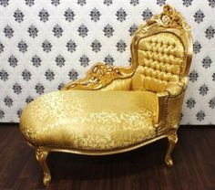 Recamiere barock  Barock Esszimmer Stuhl Bordeaux / Gold mit Armlehnen – Bild ...