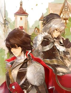 Prince and knight by peggyly.deviantart.com on @deviantART