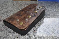 Smartphone belt purse wallet in a steampunk by ArchdeansMagicShop
