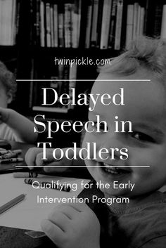 We have qualified for the government funded 'Early Intervention Program' for speech and language therapy.   I outline the assessment and qualification process for delayed speech in toddlers.