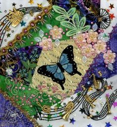 Victorian Crazy Quilt Patterns   Crazy Quilting and Embroidery Blog by Pamela…