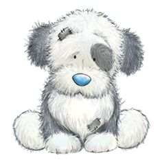 Fluffy... the faithful Sheepdog who is full of mischief... but he would never pull the wool over your eyes!