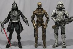 Star Wars transposé dans un univers steampunk