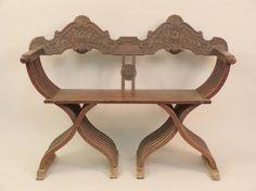 Rare vintage sculptural Savanarola carved wood by STUDIOLAVA, $550.00