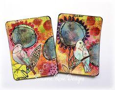 Susanne Rose - Papierkleckse: Mixed Media Journal Cards with Art Anthology