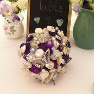 Purple butterfly bouquet