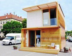 COMMOD House, ContainMe!, green design, sustainable design, shipping container, recycled shipping container, cargotecture, green building, sustainable building