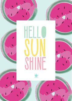 Pink Flamingo Wallpaper, Flowery Wallpaper, Watercolor Wallpaper, Summer Wallpaper, Cool Wallpaper, Wallpaper Quotes, Wallpaper Backgrounds, Iphone Wallpaper, Happy Summer