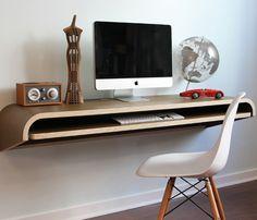 floating desk.