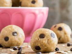 10 Vegan Recipes For A More Plant-Based You: Peanut Butter Cookie Dough Bites http://www.prevention.com/food/cook/vegan-recipes-oh-she-glows?s=10&cid=NL_ROTD_1947726_12172014_CookieDoughBitesImg