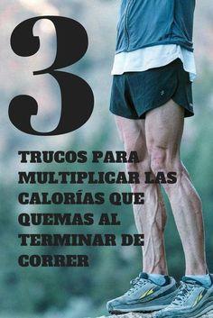 Tres trucos para quemar más calorías al terminar de correr | Runfitners
