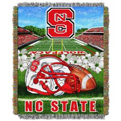 NCAA Northwest Tapestry Throw Blanket Rutgers Scarlet Knights - 48 x 60 Pattern: Sports. NCAA Northwest Tapestry Throw Blanket Rutgers Scarlet Knights - 48 x 60 North Carolina State Wolfpack, Louisiana Tech, Stanford Cardinal, University Of Alabama, Stanford University, Carolina University, Thing 1, Alabama Crimson Tide, Tapestry Weaving