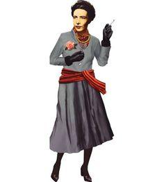 Simone de Beauvoir Cutout + Sticker Sheet