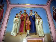 Imperial Family wall mural