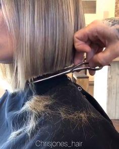 Hair Cutting Videos, Hair Cutting Techniques, Hair Color Techniques, Hair Videos, Medium Hair Styles, Short Hair Styles, Hair Upstyles, Cut Her Hair, Haircut And Color
