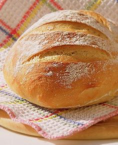 66 Ideas bread basket soups for 2019 Best Bread Recipe, Quick Bread Recipes, Donut Recipes, Baking Recipes For Kids, Cooking Recipes, Ciabatta, Banana Recipe Moist, Baguette, Crock Pot Bread
