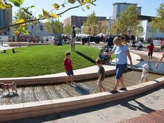 Uptown Normal Circle and Streetscape | Landscape Performance Series