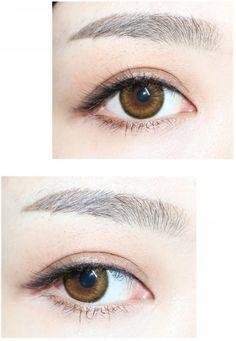 Eye contact lenses honey 61 Ideas for 2019 Contact Lenses Tips, Black Contact Lenses, Cosmetic Contact Lenses, Big Eye Contacts, Colored Contacts, Eye Shape Makeup, Eye Makeup Steps, Makeup Charts, Color Lenses