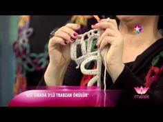Tülin İriş - yelek ve şal modelleri (star tv - melek programı) 13 KASIM 2014