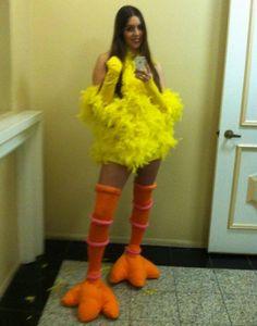 Sesame Street Big Bird Costume Ideas #Funny Halloween Costume Ideas for Women…