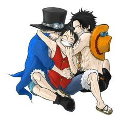 Sabo - Luffy - Ace