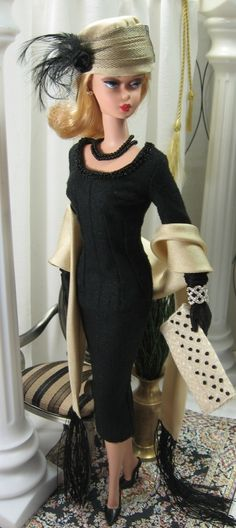 Midnight Hour for Silkstone Barbie on Etsy now