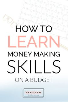 Want to make more money and learn new skills? Check out these three sites that can teach you important money making skills. From business tips to marketing hacks, these courses can teach you everything you need to know about a specific topic or just touch the surface. Click through to see how you can start learning new skills on a budget today!