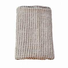 Håndklæde Natur| Hør-Bomuld |Vaffel - Unik og Naturlig