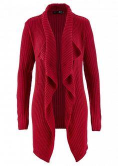 Jachetă tricotată croială care învăluie • 109.9 lei • Bon prix