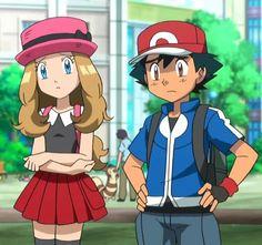Ash and Serena, beautiful amourshipping  :3