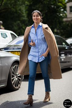 Caroline Issa Street Style Street Fashion Streetsnaps by STYLEDUMONDE Street Style Fashion Photography