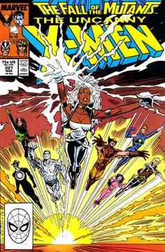 Cover for The Uncanny X-Men (Marvel, 1981 series) #227