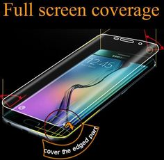 Full Covered Corning Screen Protector for Samsung Galaxy S6 Edge Plus+ Note Edge #UnbrandedGeneric