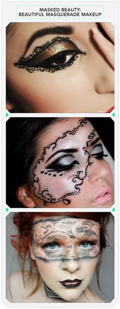 UUGGGGH I am so in love with this!!!   Masked Beauty: Beautiful Masquerade Makeup | Beautylish