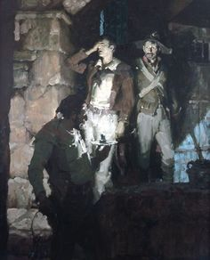 Mead Schaeffer - Kelly Collection American Illustration Art