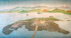 Tenochtitlán, located in the heart of what is now Mexico City, was the largest city and capital of the Aztec empire. Today, Mexico City is still one of the largest cities in the world, and it is in a very odd place for a capital, modern or ancient.