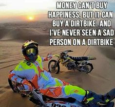 I've never seen the face of someone on a dirtbike so I am currently right untill proven otherwise Dirtbike Memes, Motocross Funny, Motocross Quotes, Dirt Bike Quotes, Motocross Love, Motorcycle Memes, Biker Quotes, Motocross Bikes, Hyabusa Motorcycle