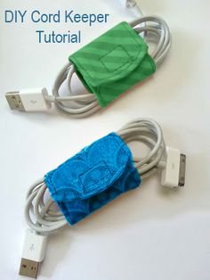 DIY Cord Keeper Tutorial
