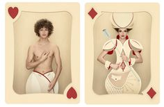 "Christian Tagliavini Brings Queens and Jokers to Life in the Photography Series ""Carte"""