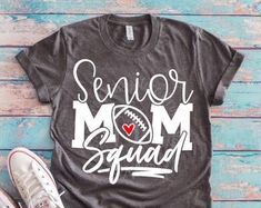 Senior football mom - Senior Shirts - Ideas of Senior Shirts - Senior football mom Senior Football Gifts, Football Senior Pictures, Senior Softball, Senior Night Gifts, Senior Shirts, Football Crafts, Senior Guys, Senior Photos, Cheer Shirts