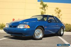Ford Mustang 1989 LX for sale online Blue Mustang, Fox Body Mustang, Mustang Cars, Pontiac Gto, Chevrolet Camaro, 1966 Chevelle, Muscle Cars For Sale, Ford Mustang For Sale, Street Racing